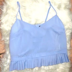 French connection light blue top